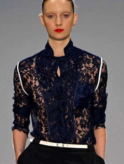 Модные Гипюровые Блузки Брендовые 2014