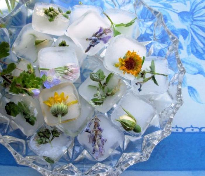 Рецепты льда для протирания лица
