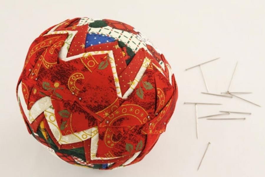 Пенопластовый шарик своими руками