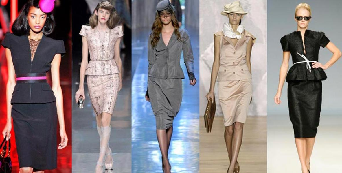 Стиль одежды модных женщин