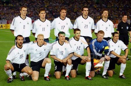 Футбол сборная германии 2002